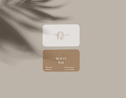 Business card beauty