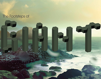 The Footsteps of Giants Magazine Spreads