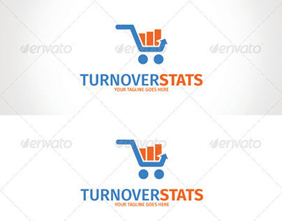 Turnover Stats Logo Template