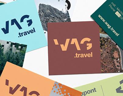 Wag.travel - Brand identity by Treize grammes