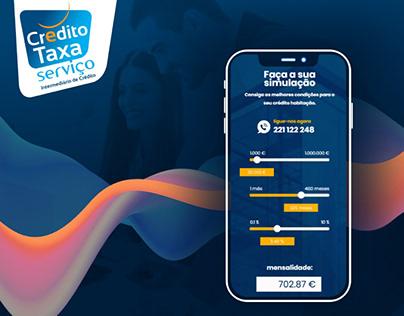 Crédito Taxa Serviço | Website