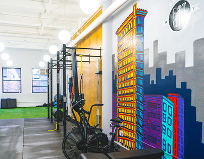 FitClubNY: Mural
