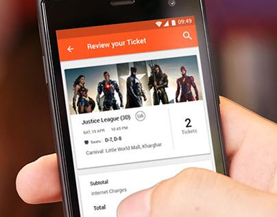 Quick Ticket App Design
