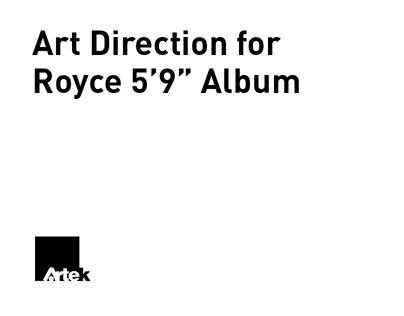 """Art Direction for Royce 5'9"""" Album"""