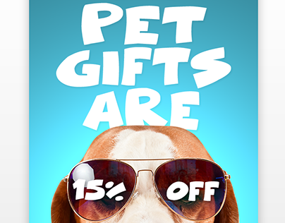 Pet Gifts Flash Sale Email Design