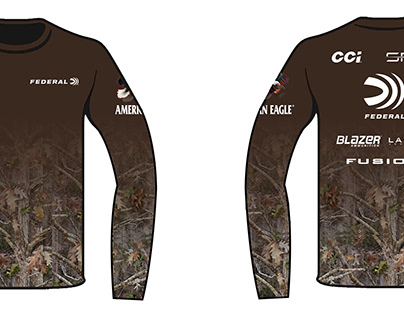 Sublimation Long Sleeve Tee Design