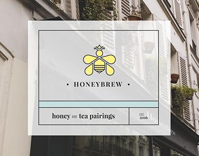 HoneyBrew Branding and Website