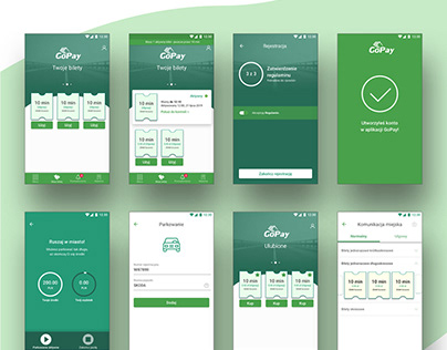 GoPay - Mobile City Card - Redesign