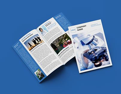 Brochure - CompanyNewsletter Bi-fold
