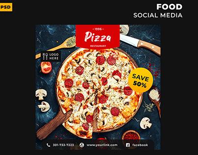 Food Social Media Post & Story