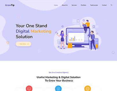 GrowTip - Digital Marketing Agency