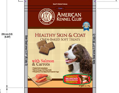 Package Design - Pet Brands, Inc.- AKC Baked Treat Line