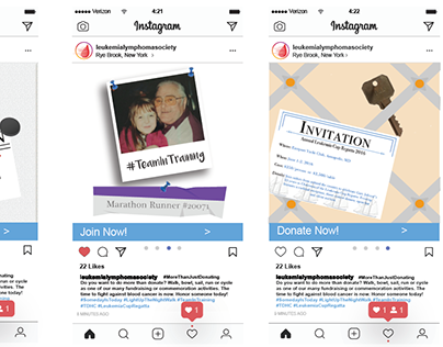 Instagram Carousel for Charitable Cause