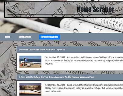 News Article Scraper