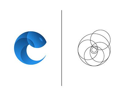 """""""Elite Fish ( Modern )"""" Logo"""