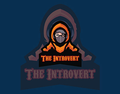 This is New The Invtrovert Gaming Mascot Logo Design