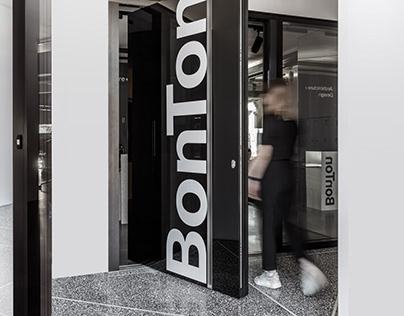BonTon architecture + design. Wayfinding & Identity