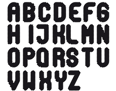 """Typography """"sinusoide"""""""