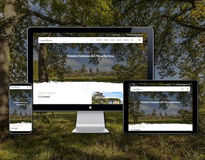 🔥 Web design | Villa for events