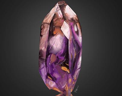 Gemstone Digital Drawing