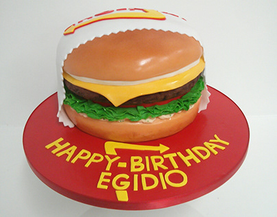 In 'N Out Burger Cake