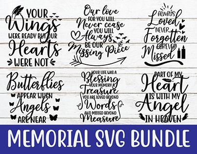 Memorial svg bundle