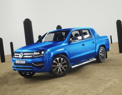 VW Amarok Animation test