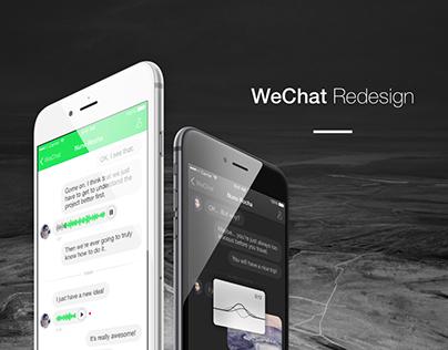 WeChat Redesign Concept