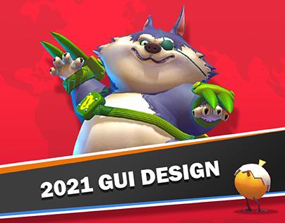 2021 Game Ui Design and Art Team Work