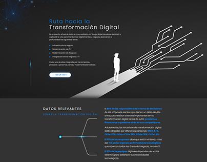 Grupo Babel - Landing page