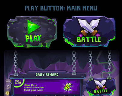 Mighty Monsters Rise of the Minions UI