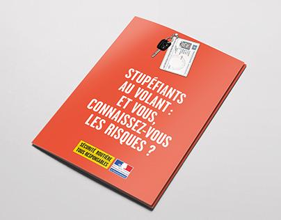 """Sécurité Routière — Opération """"Stupéfiants au volant"""""""