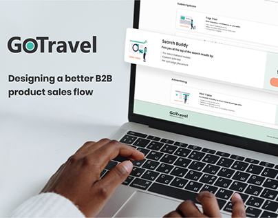 GoTravel B2B UI Sales Flow