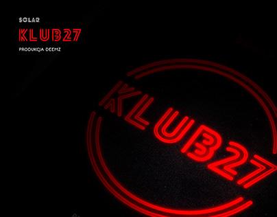 solar - klub27 (prod. deemz) / album package design
