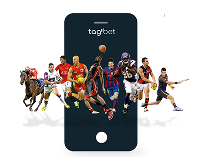 Tag!Bet Betting App landing page