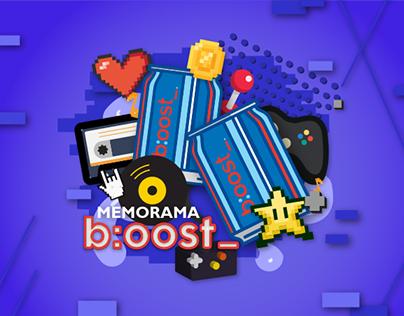 Dale b:oost_ a tu memoria | Social app (Fb)