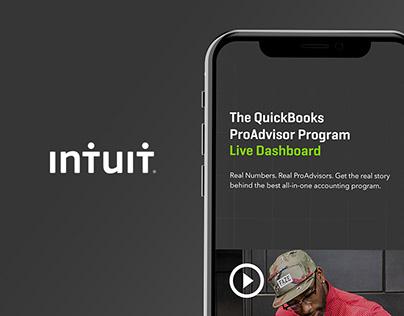 Intuit - The Quickbooks ProAdvisor Live Dashboard