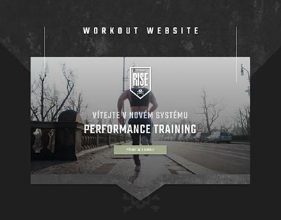 Workout Plan Website