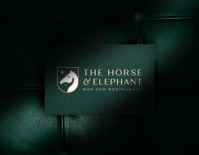 Luxury Bar & Restaurant Branding - The Horse & Elephant