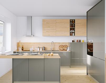 Кухня Nolte Corona 19Q   Legno 59C