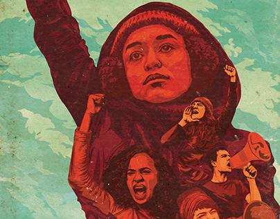 PSI poster artwork - Anti-Trump campaing