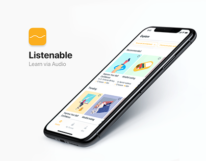 Listenable — Learn via Audio