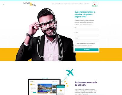 Home Hotsite - Desktop - Férias & Co.
