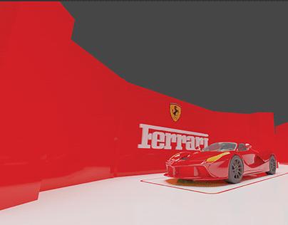 Retail Space Design for Ferrari