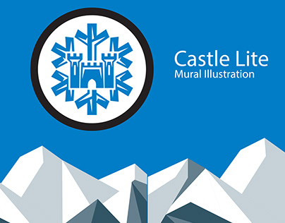 The Castle Lite Mural
