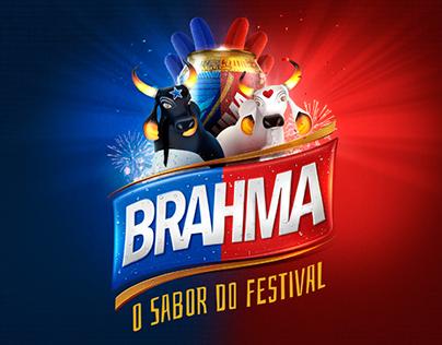 Cerveja Brahma - O Sabor do Festival