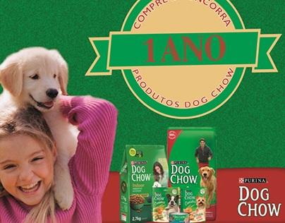 Selo Promocional para PDV - Dog Chow