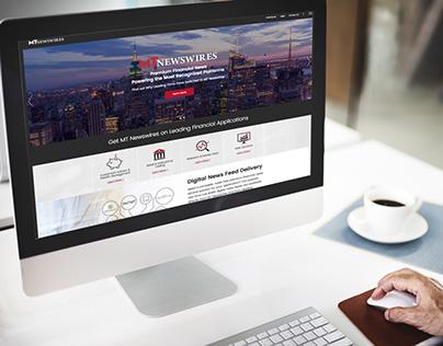 MT Newswires Website Design