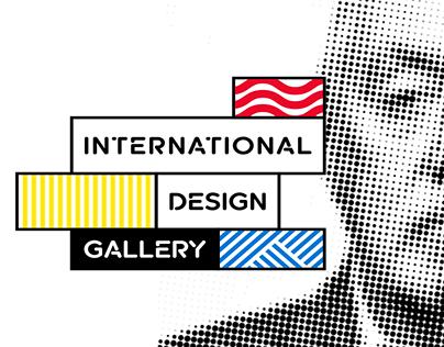International Design Gallery - Identité visuelle