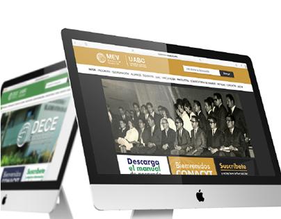Diseño de sitios web para programas de UABC Tijuana